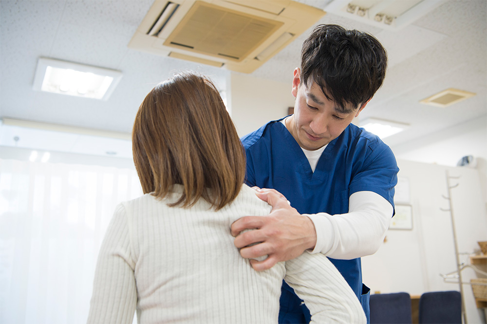 肩こりの整体治療