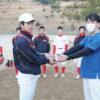 小野市で青少年が活躍する野球チーム「湊クラブ」に寄付をさせて頂きました。